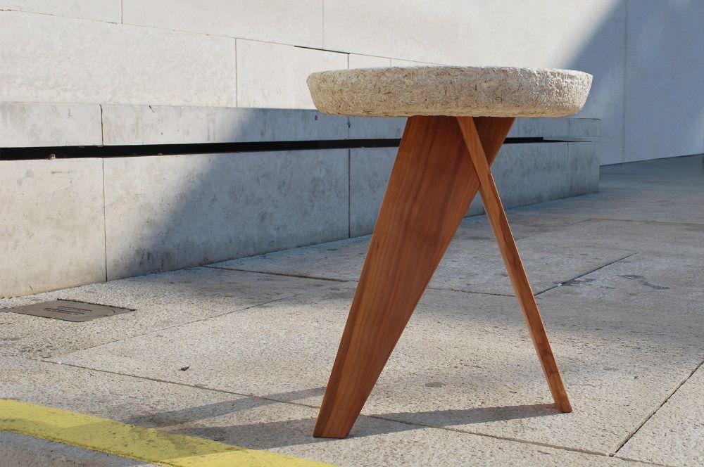 Projet Etudiant Shiro Tabouret Champignon Leon Van Veken Tabouret Mobilier Design Mobilier