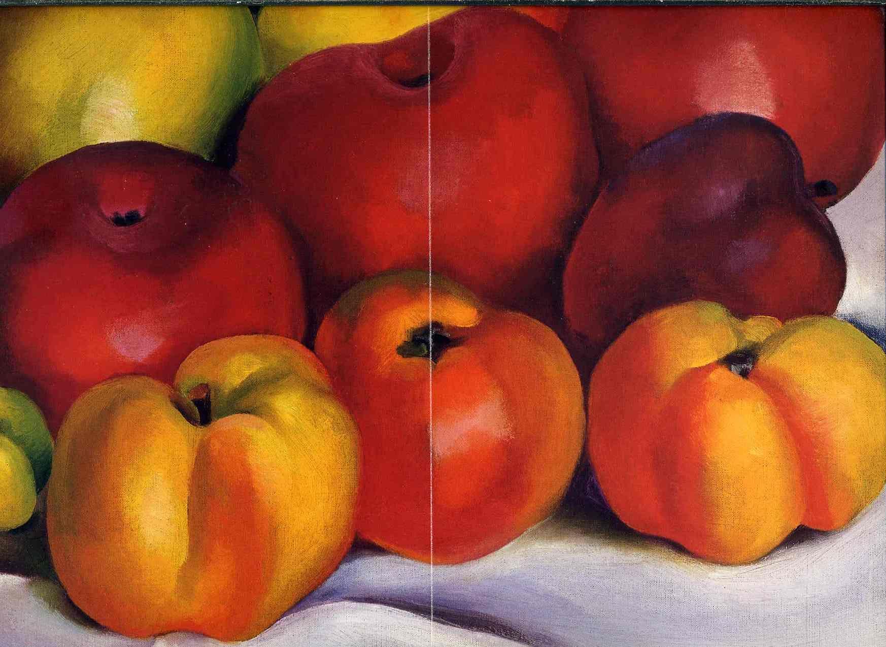 Georgia O'Keeffe Art | Apple Family