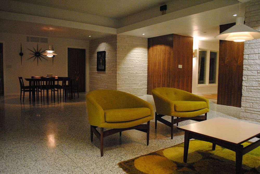 Midcentury Terrazzo Flooring Mid Century Modern Design