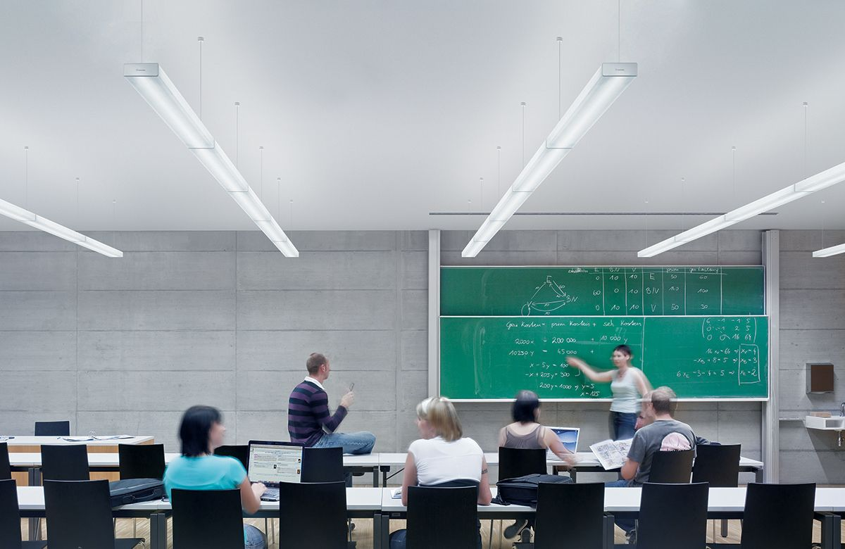 Icos Is An Efficient Direct Indirect Luminaire With A Brilliant Look