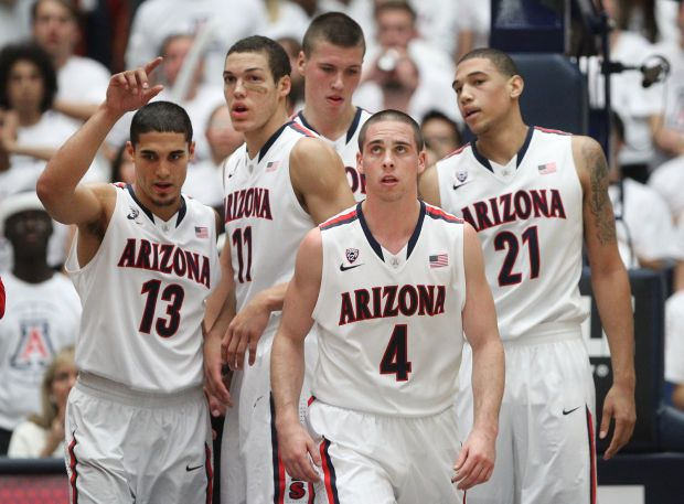 sports shoes 67967 514d4 University of Arizona basketball 2013-14. TJ McConnell ...