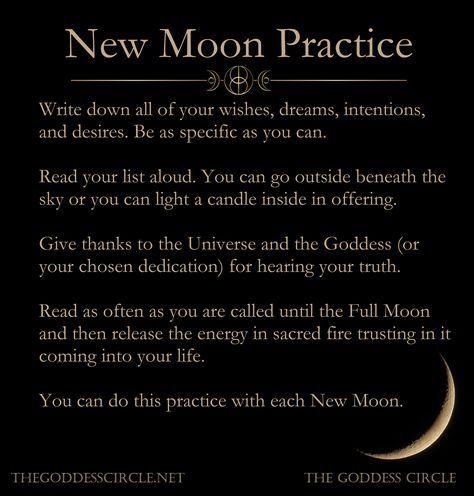 6 New Moon Rituals #newmoonritual