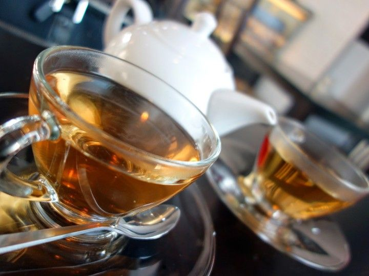 Twinings Tea at Petit Noms, Empire Damansara in Damansara Perdana, Malaysia.