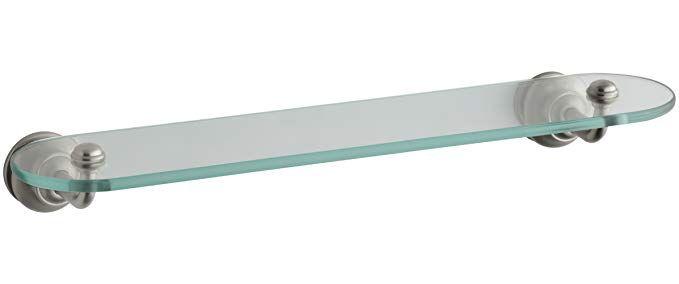 KOHLER K-12158-BN Fairfax Glass Shelf, Vibrant Brushed Nickel Review