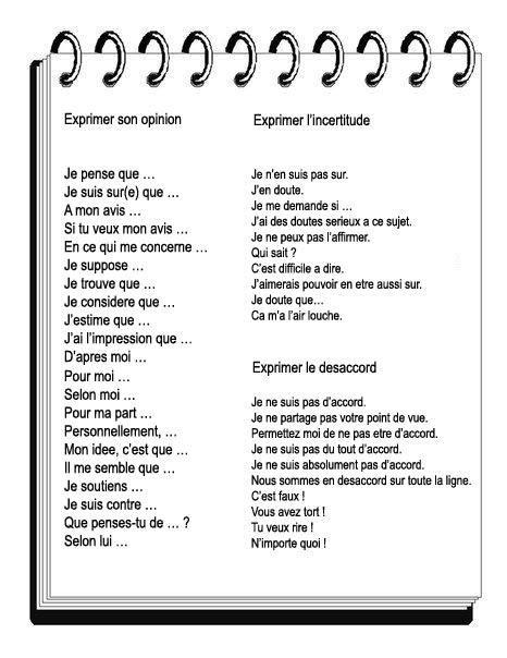 Z życia wzięte #2 - Wyrażanie opinii - słownictwo 1 - Francuski przy kawie
