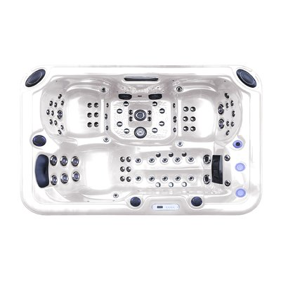 Tropic Spa Hurricane 3 Person 81 Jet Hot Tub With Led Light In 2019 Tub Spa Luxury Spa