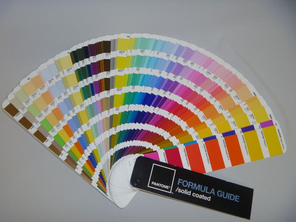 Pantone Universe A History Journal by Fab Future Conversation - sample pms color chart