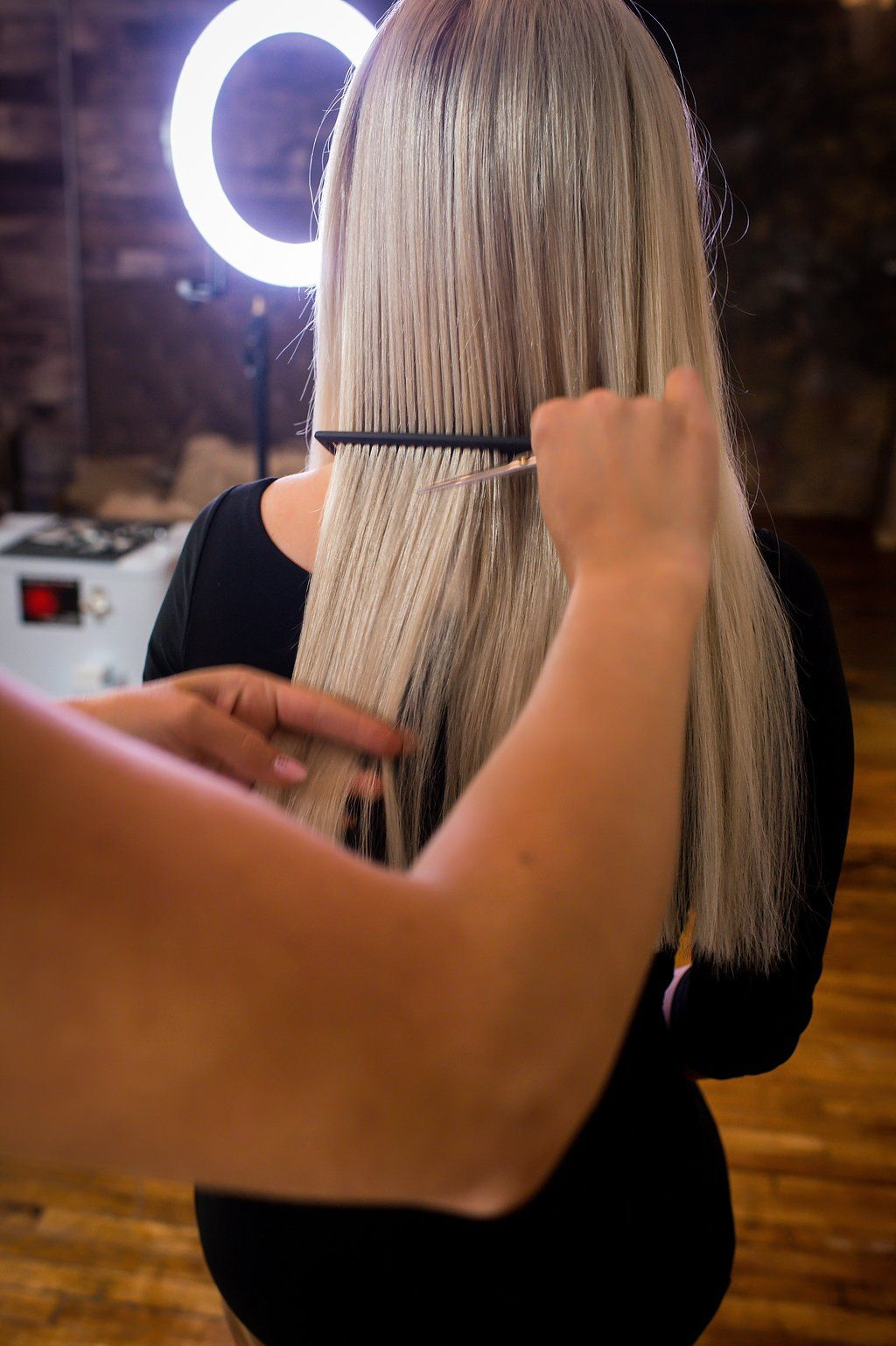 Through our courses, many salons, hair professionals and