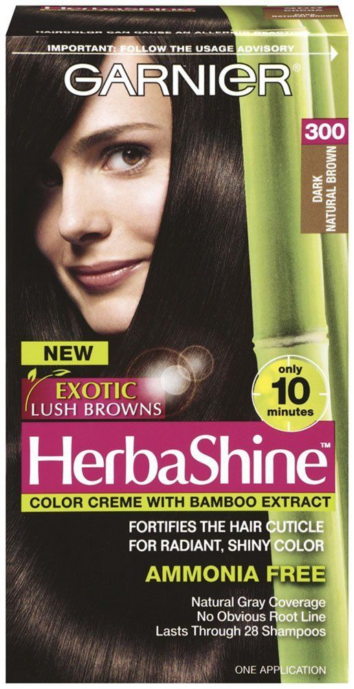 Garnier Herbashine Haircolor 300 Dark Natural Brown You Can