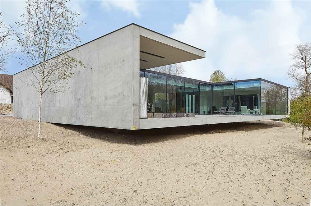 Afbeeldingsresultaat voor betonnen villa exterieur for Exterieur villa moderne