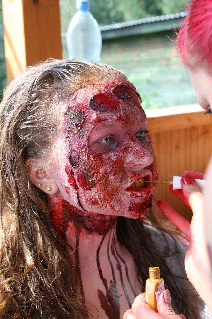 horror make_up Geister