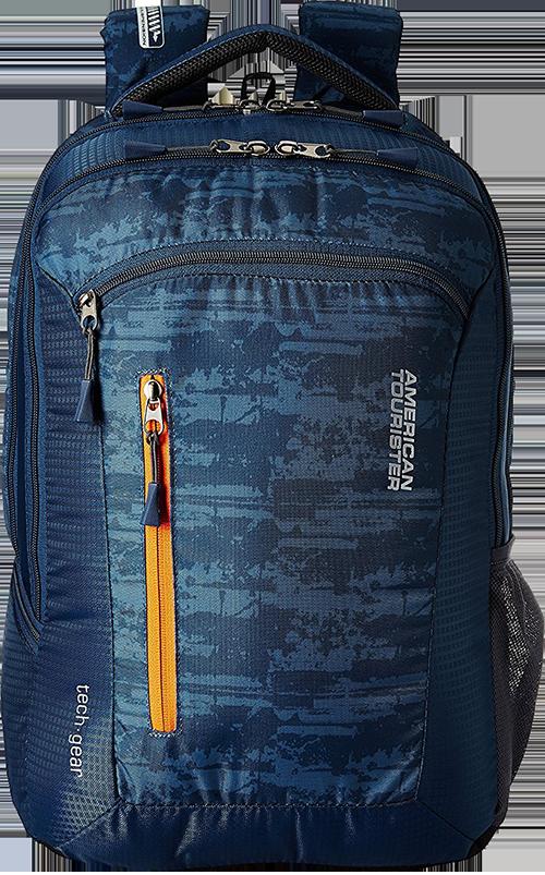 2e790cb0baf Buy American Tourister Polyester 28 Ltrs Blue Laptop Backpack (AMT TECH  GEAR LAPTOP BP 03