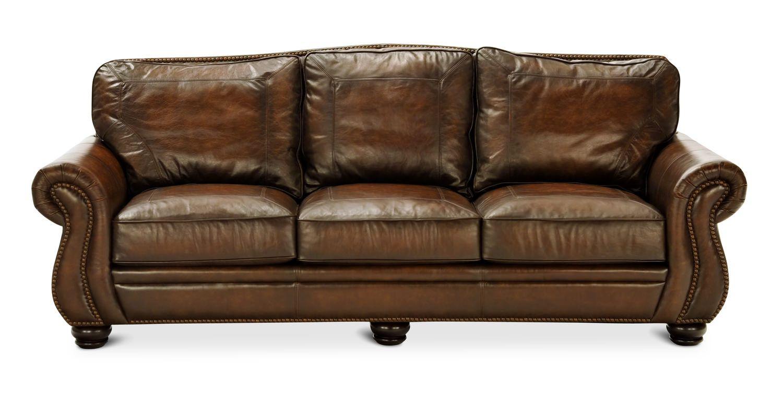 100 breckenridge leather sofa by bernhardt