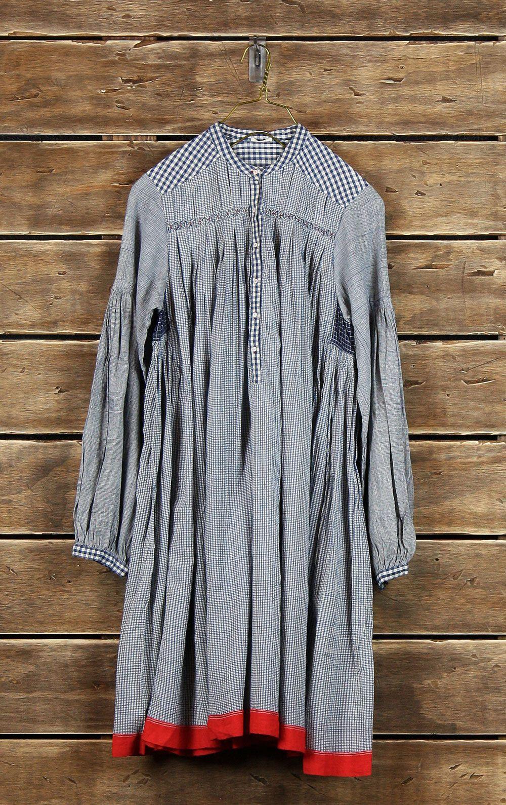 Injiri  __ handmade: hand-dyed, handwoven, hand sewn, etc., in India.
