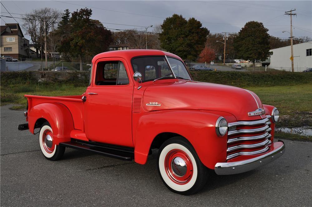 Item Barrett Jackson Auction Company 53 Chevy Truck Chevy Trucks Chevy Pickups