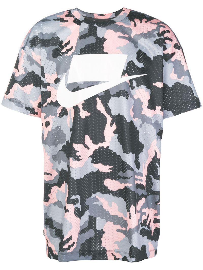 41106f049d9 NIKE CAMOUFLAGE PRINT MESH T. #nike #cloth # | Nike | Mesh t shirt ...