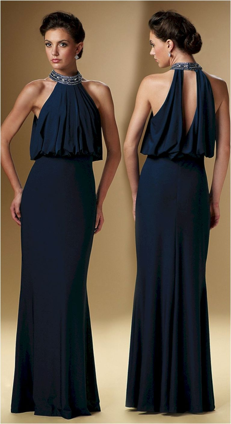 Sophisticated Mother of the Bride Dresses 12