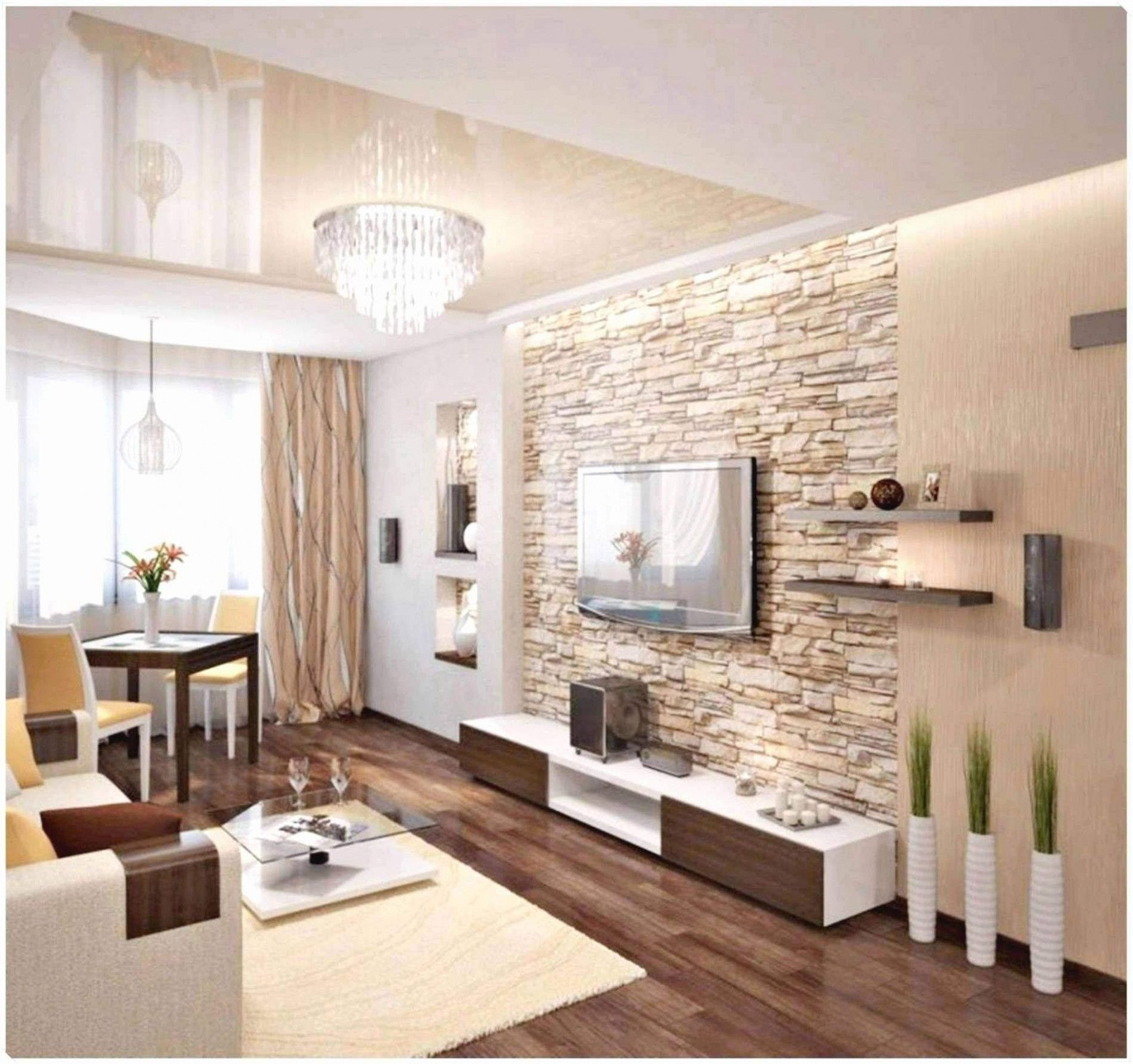10 Dach Lebende Ideen in 10  Living room decor modern, Stone