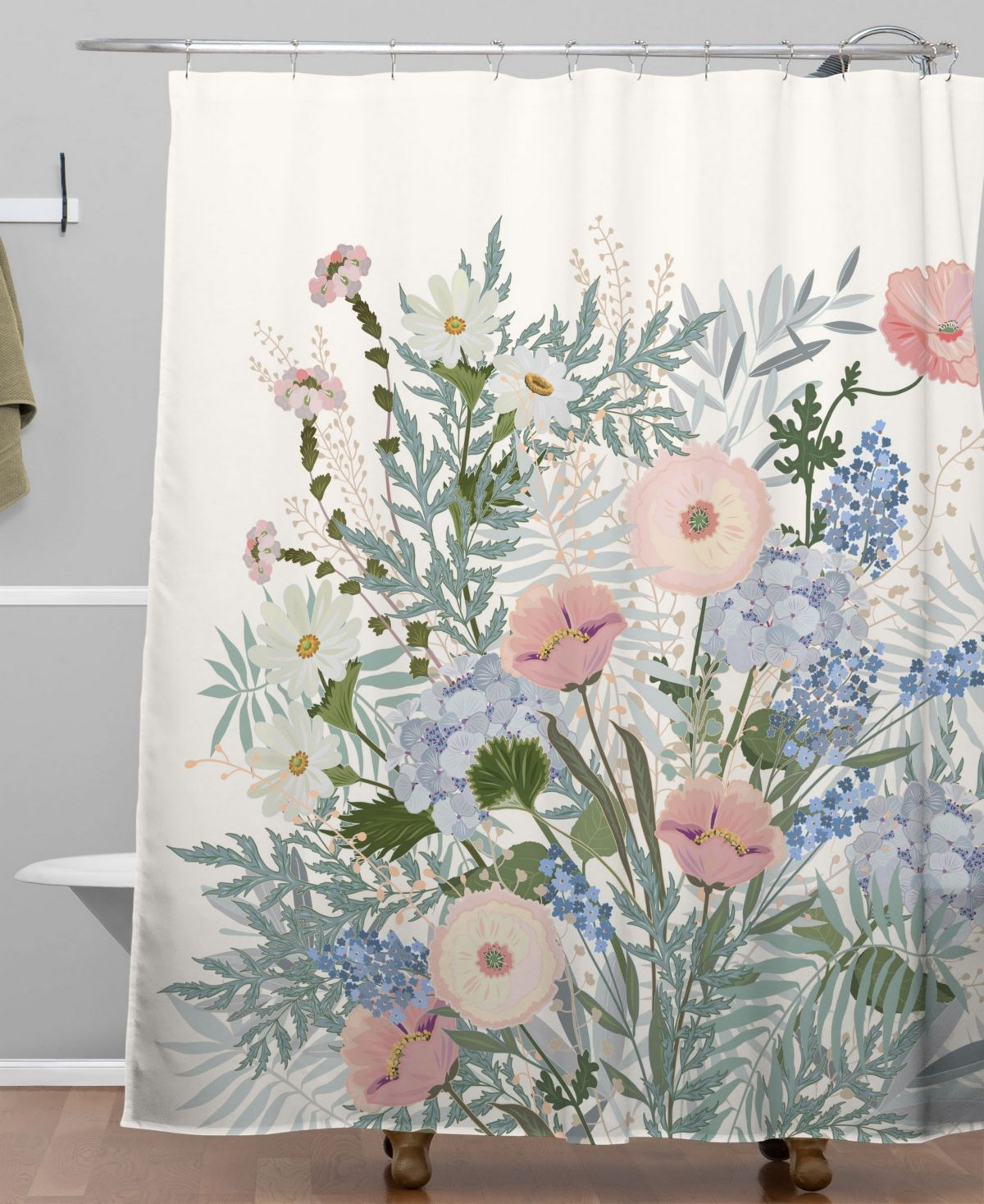 Deny Designs Iveta Abolina Camille Shower Curtain Reviews Shower Curtains Bed Bath Macy S Baby Clothes Shops Design Curtains