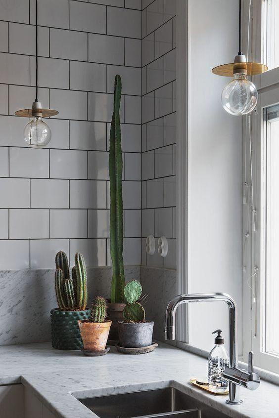 Vitt, grönt och svart - 15 fantastiska kök som vi inspireras av just nu - Metro Mode