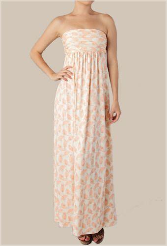 Lizzy Print Maxi Dress