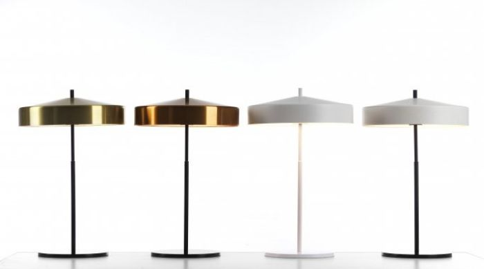 Cymbal bordslampa