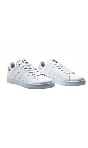 87a7d34d70daa3 Adidas Stan Smith Vulc White Gold - Fuel Clothing