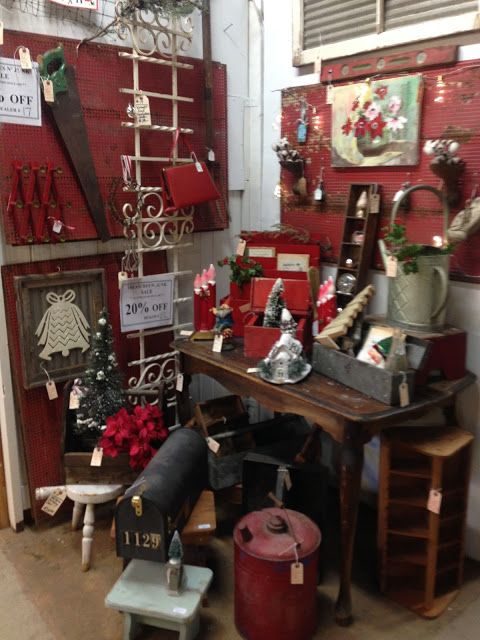 House Of Patterns: Open House Christmas Kick Off Treasures N Junk Ontario  California Antique Mall