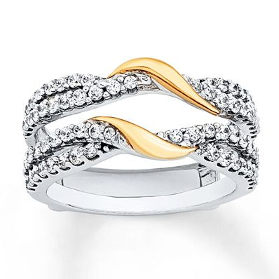 Solitaire Rings Entwined Diamond Lined Swirls Set In 14K White Gold Sparkle Above And Below Your