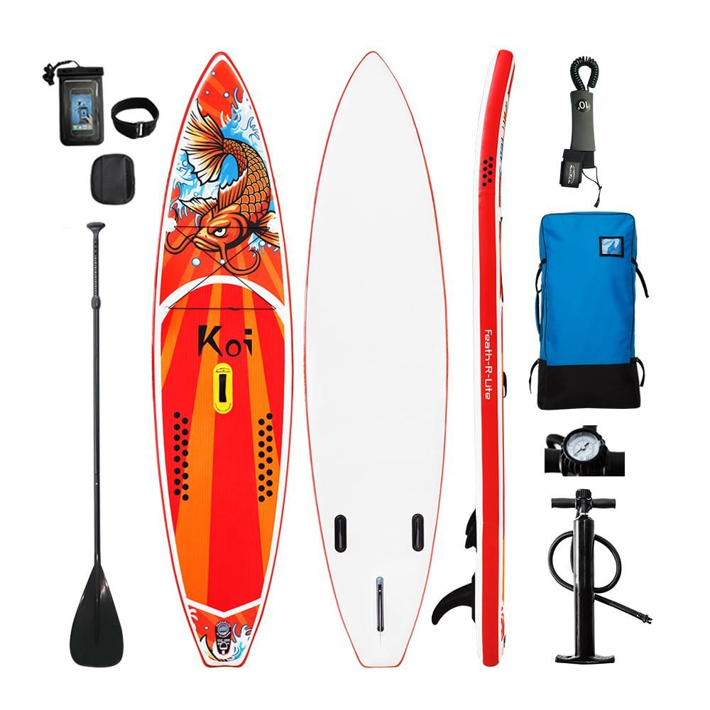 11'6 FunWater All Around Koi Inflatable Paddle Board (SUP