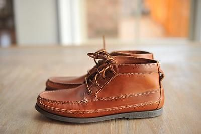 J Crew Men's Sperry Top Sider Leather Chukka Boots 11 $125 | Feet ...