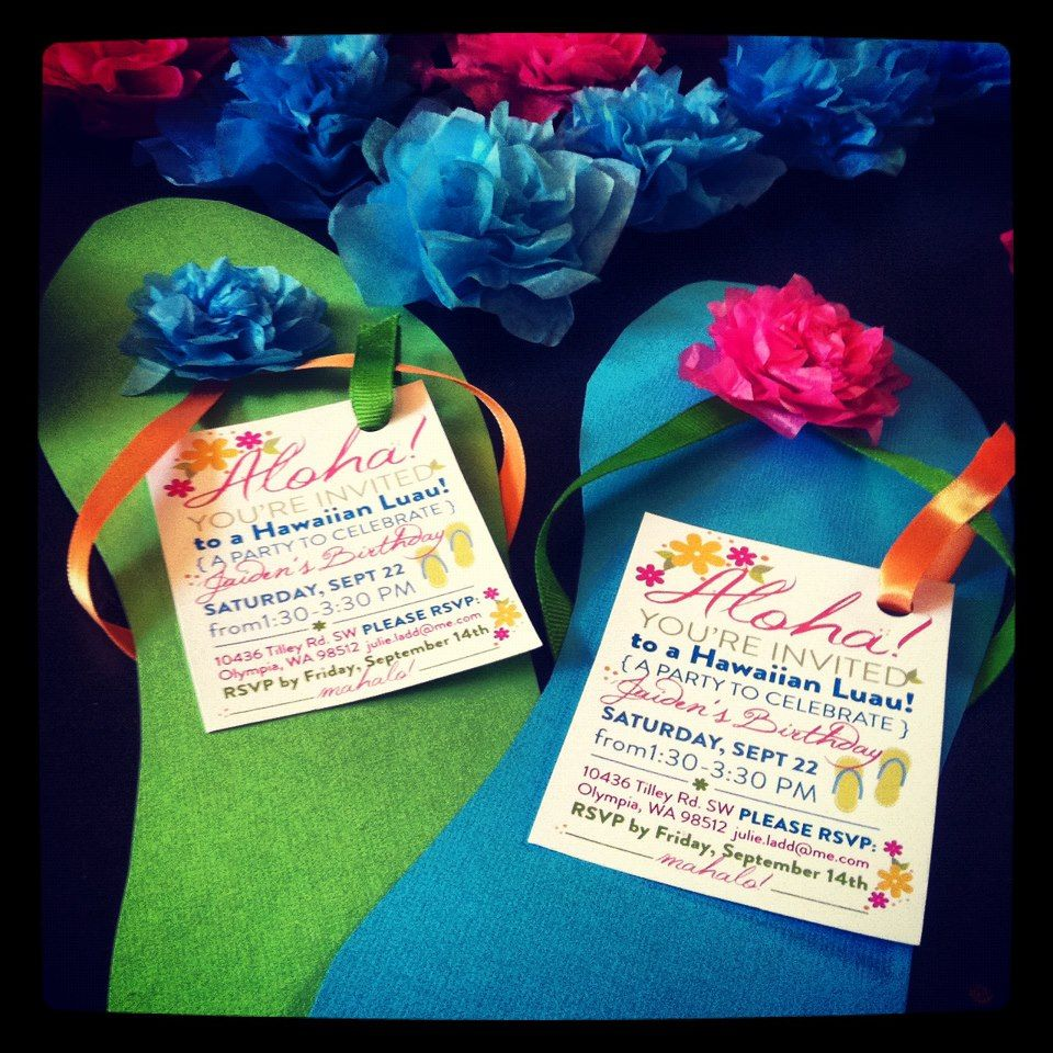 luau invitations | BUDGET-SENSITIVE TIPS & IDEAS FOR A GREAT PARTY ...