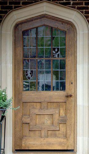 Historic English Door Traditional Front Doors Dallas Hull