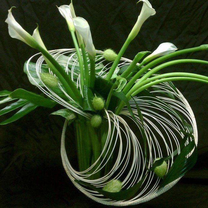 Comment Faire Une Decoration Florale Sur Chandelier