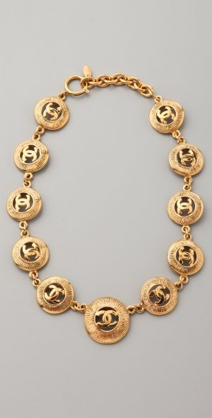 Vintage Chanel CC Necklace