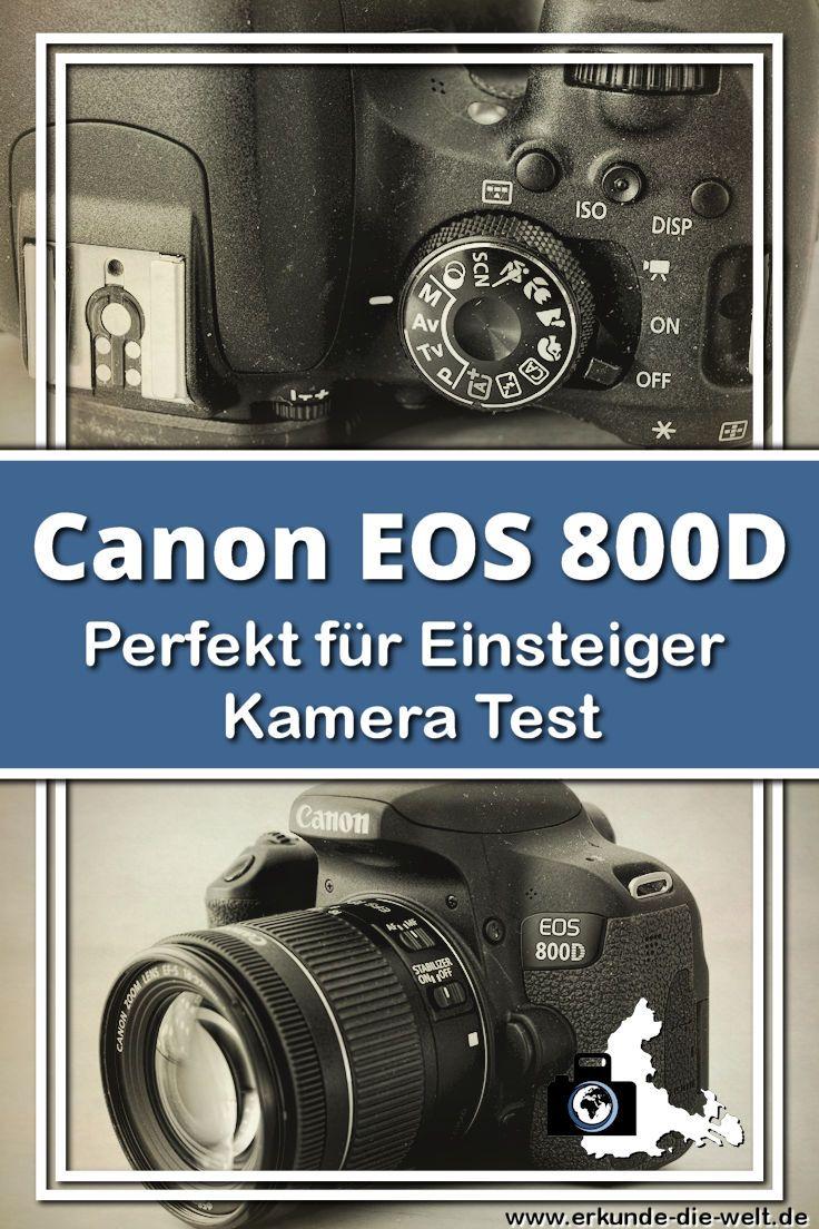 Testbericht Canon EOS 800D | Canon EOS and EOS
