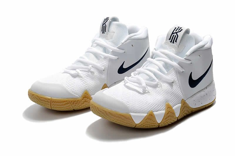 Wholesale nike kyrie 4 basketball shoes white dark blue on  www.enjoyshoes.net f0e835fb4
