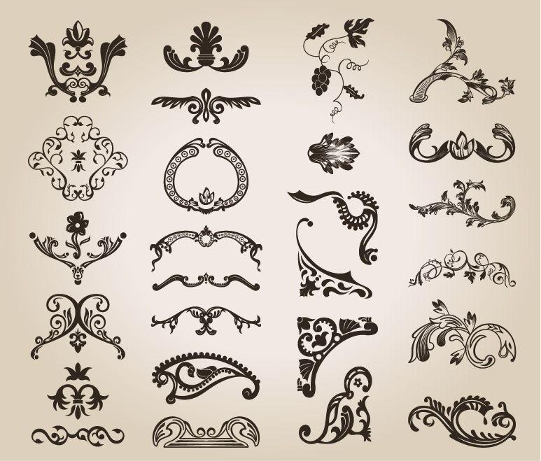 Floral Design Patterns | name vintage design floral pattern homepage flower vector license ...