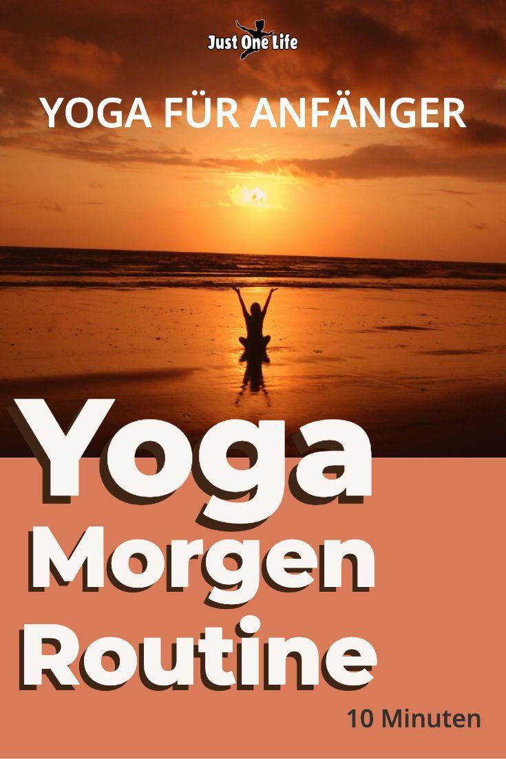 Yoga am Morgen – 10 Minuten-Routine für Anfänger #pilatesyoga