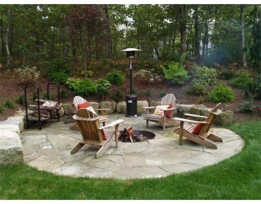 Photo of Fire pit design #backyardfirepitideaslandscaping