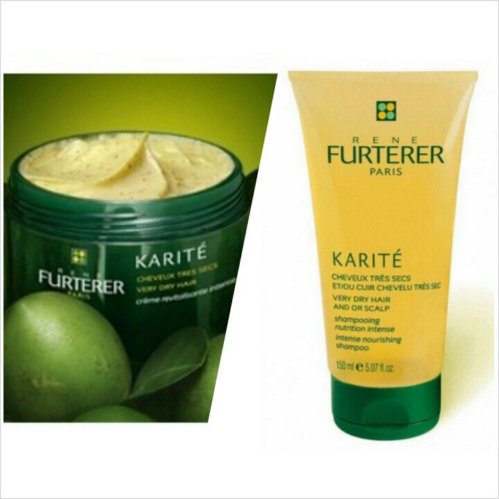 Karite Shampoo + Revitalizing creme by René Furterer