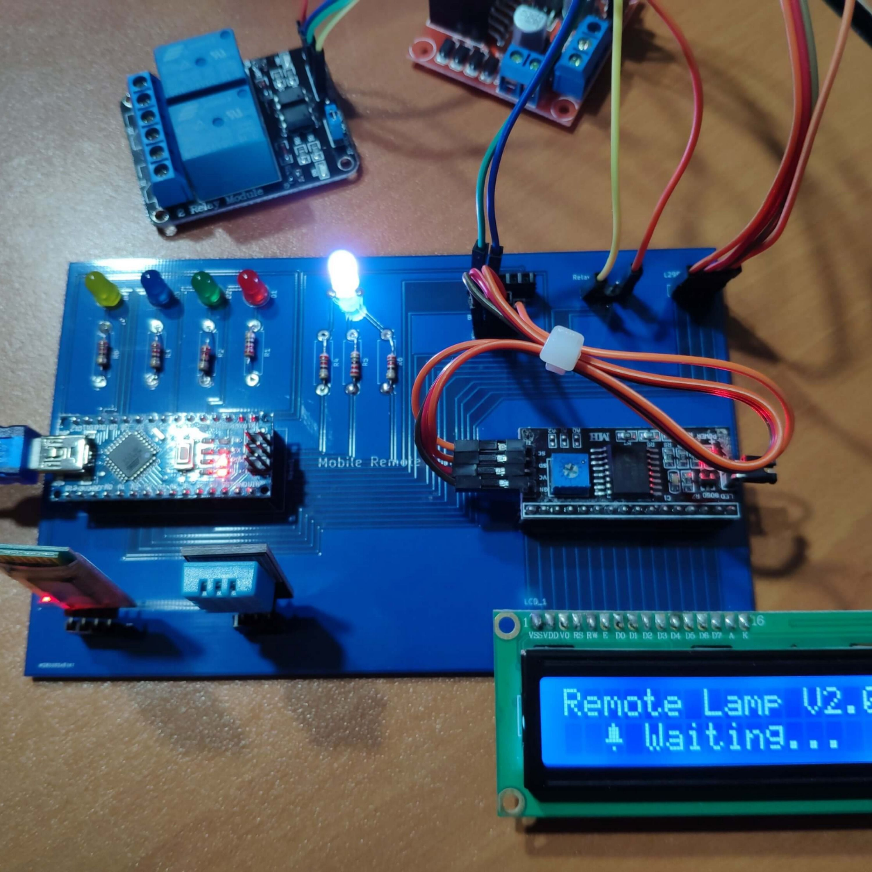 Control Your Room Lighting System And Display Weather Information Via Specifically Developed Android Application And A Uniquely Designed Pcb 2020 Goruntuler Ile