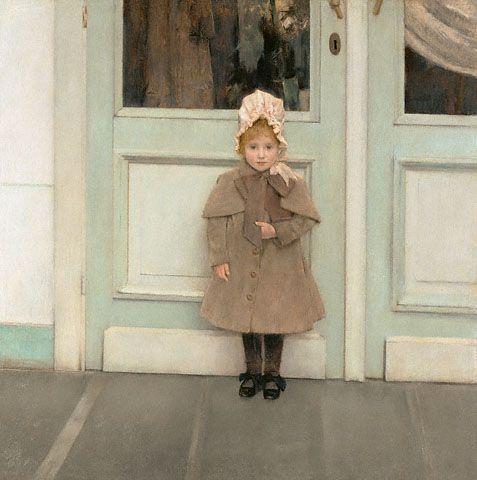 Jeanne Kéfer by Fernand Khnopff, 1885