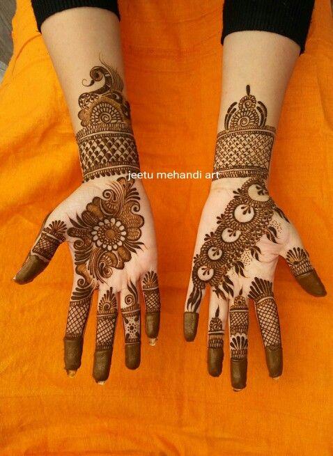 Jeetu Mehandi Artist Modern Mehndi Designs
