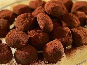 Truffes au chocolat au lait facile - Recettes