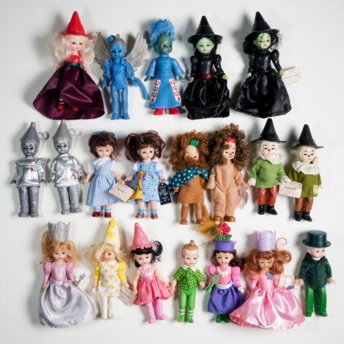 Main Cast Lot of 4 McDonald/'s Madame Alexander Wizard of Oz Happy Meal Dolls