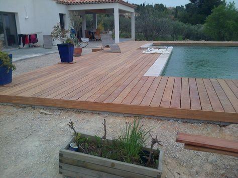 Tour de piscine en bois exotique dans les bouche du rhone 13 ...