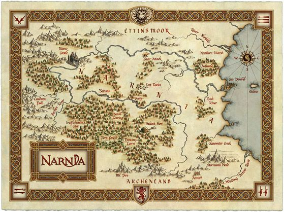 Image result for narnia map