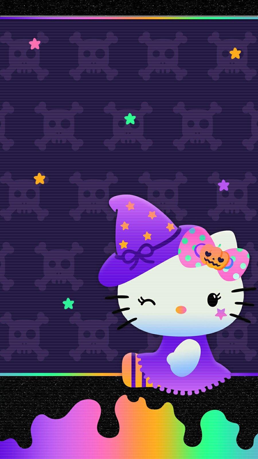 Hello Kitty Halloween Wallpaper Iphone 2019 Hello Kitty Halloween Wallpaper Hello Kitty Hello Kitty Halloween