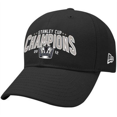 New Era Los Angeles Kings 2012 NHL Stanley Cup Final Champions 9FORTY  Adjustable Hat - Black a59457b530e3